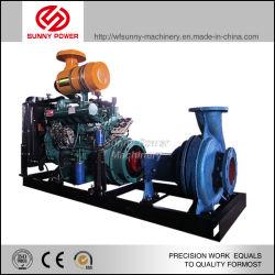 8inch waterpomp Aangedreven door 114HP dieselmotor 110L/S 72psi
