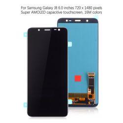طراز جديد شاشة LCD ذات سعر جيد لـ Samsung J8 2018 أكسسوارات الهواتف المحمولة