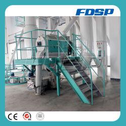生産ラインを処理する良質牛供給の餌の製造所