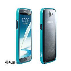 Bouclier en aluminium de marque Ytin N7100 Accessoires pour Samsung Note 2 armatures métalliques à la recherche pour les agents