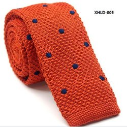 Los Lazos tejidos bordados, poliéster Skinny corbatas, corbatas