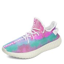 Loopschoenen van het Ontwerp van de Schoenen van de Sporten van de Tennisschoen van de Manier van de Vrouwen van het Ontwerp van de douane de Lichtgewicht Atletische Aanstotende Lopende Kleurrijke Mooie