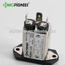 EMI EMC فلتر تمرير التيار المتردد المنخفض مع المقبس