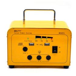 L'énergie solaire portable hors réseau système d'éclairage d'accueil de l'énergie pour le camping de kit