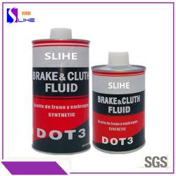 250ml/500ml de hierro puede China fábrica de aceite de motor sintético lubricante líquido de frenos DOT3 Venta caliente