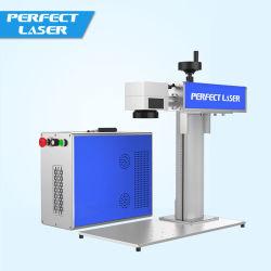 Mini macchina portatile Pedb-400b acquaforte della marcatura del laser della fibra sui metalli dell'acciaio inossidabile della penna dell'anello dell'uccello