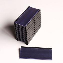 Plastique PVC Supermarché bandeau de données Porte-étiquettes pour les étagères de fil métallique