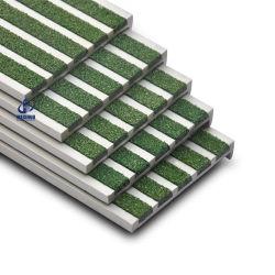 Obras de escadas de alumínio antiderrapagem para escadas