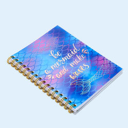 Kundenspezifische Farben-Drucken-Schönheits-Ausgabe-gewundenes Notizbuch