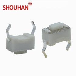 Interruptor de tacto Skqmaqe010 3X6X4.3mm tacto táctil Pulse el botón interruptor 2pin Micro interruptor DIP momentáneo