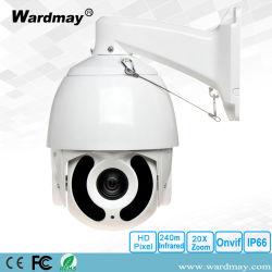 7inch HD-IP IR Hochgeschwindigkeitsabdeckung-Sicherheits-Überwachung 2.0MP Kamera des IP-36X Summen-PTZ