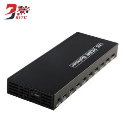 Distribuidor de HDMI 1x8 4Kx2K@30Hz 3D HDMI 1 en 8