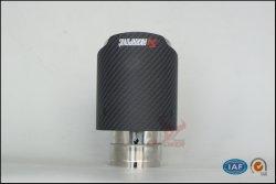 Commerce de gros des performances de pointe d'échappement en fibre de carbone universel, queue d'échappement tuyaux, la tête du silencieux, échappement silencieux pour 63/67/70-89/102/114mm bord rectiligne Surface mate