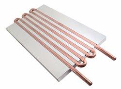 Liga de Alumínio personalizado Usinas Termoelétricas placa fria de Água de Resfriamento de líquido