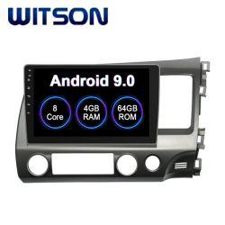 De Androïde van Witson Auto 9.0 Van verschillende media van de Speler voor Grote Scherm van de Flits van de RAM van Honda 2006-2011 het Burger (RHD) 4GB 64GB in de Speler van de Auto DVD