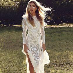 Neues Art-Brautkleid-Kleid der populären und neuen Entwurfs-Fabrik-Großverkauf-Frauen