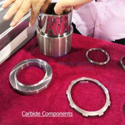 Вольфраму склеиваемых карбида вольфрама изнашивающихся частей компонентов кольца втулки