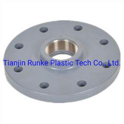 Пластмассовый Переходник топливопровода высокого качества UPVC трубный фитинг переходника с фланцами фланец давления из ПВХ для водоснабжения стандарт DIN PN10