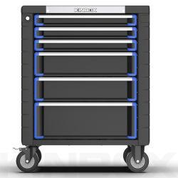 Armoire métallique Kinbox Plan de travail professionnel Outil à main du rouleau de poitrine pour réparation de voiture