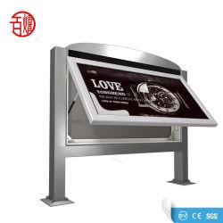 Simple ou Double écran LED de panneau latéral de la publicité
