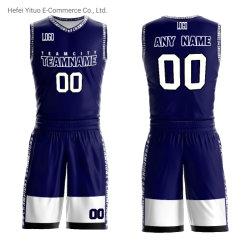 Modèles personnalisés de Polyester de gros Hommes Femmes Jeunes au basket-ball Vêtement