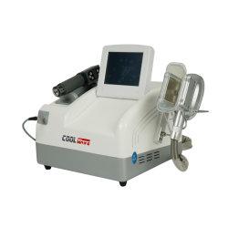 La perte de poids de l'équipement Cryolipolysis Shockwave refroidir la machine de la douleur minceur