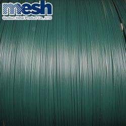 다양한 컬러 갈바니화 PVC 타이 와이어 PVC 코팅 와이어 PE PVC Iorn 와이어