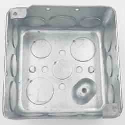 Eléctrico galvanizado Caja Caja de empalmes estancos Cuadro para conducto metálico con UL Lista
