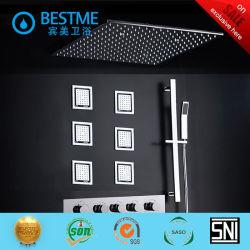 Set doccia nascosto in ottone con luci LED sanitarie (BF-60104)