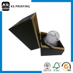 Papier de haute qualité emballage cadeau boule de cristal Design personnalisé couleur paquet de forme Box