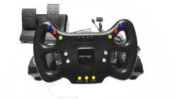 PC/PS2/PS3 (SP8062)のためのワイヤーで縛られたSteering Wheel