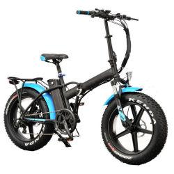 완전히 회의 신속 이탈 앞 바퀴 Mz 284를 가진 전기 자전거를 접히는 20 인치 뚱뚱한 타이어