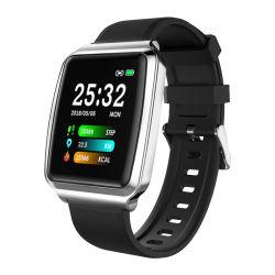 Ios&Android를 위한 접촉 스크린 손 시계 NFC Hl16 공장 가격 고품질 혈압 모니터 지능적인 시계