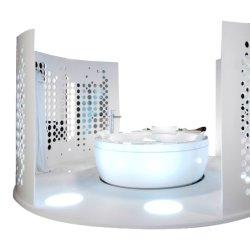 Cosmetisch Display Cabinet Smart Showcase Acryl Display Cabinet Glass Window Displaykast