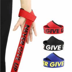 1 Verbod van de Steun van de Pols van de Domoor van de Riemen van de Greep van de Hand van het Gewichtheffen van de Geschiktheid van de Gymnastiek van de Riem Weightlifting van het paar het Antislip