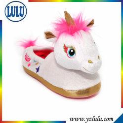 TPR Outsole를 가진 지면 실내 슬리퍼가 새로운 형식 Unicorn에 의하여 농담을 한다