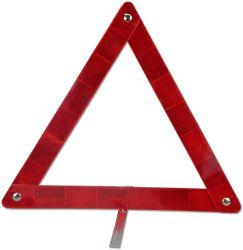 警告の反射三角形のFoldable三角形の反射鏡は車車のための携帯用ケースが付いている緊急キットの路傍の危険信号に警告する