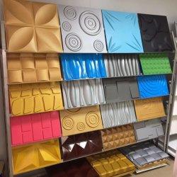 ホーム装飾のための防水壁紙の物質的な壁のカバーパネルのDe Pared 3D PVC 3D壁パネル