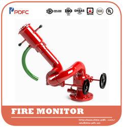 Monitor de espuma de água de incêndio inteligente automático SS316 listado pela UL