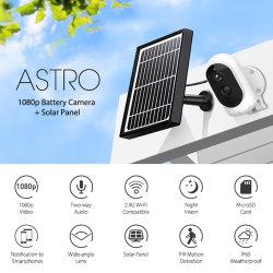 IP65 Wetterfeste PIR-Bewegungserkennung, drahtlose Solar-IP-Überwachungskamera