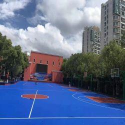 스포츠용 바닥재 실외 실리콘 PU 농구장