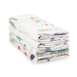 Promoción de la fabricante de algodón de bambú 100% de la muselina de envolver Manta de bebé