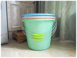 강철 손잡이가 있는 플라스틱 물 버킷 워터 레일 20L