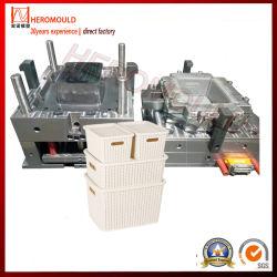 gesetzte Plastikrattan-Ablagekasten-Form Heromould der form-3PC