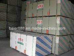1200X2400X9мм бумаги, с которыми сталкиваются гипсовая штукатурка плата / гипсокартонный потолок сухой кладки