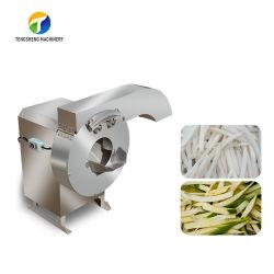 速い野菜スライサーの商業ポテトチップスライス機械(TS-Q128)