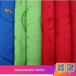 Jacquard ヤーンの染料100% Polyester Curtain Cloth ファブリック