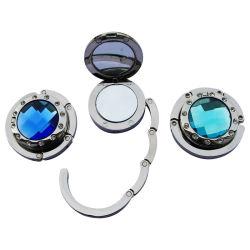 Faltbares Mirror Handbag Hook mit Diamond (ASNY-JL-BH-12111807)
