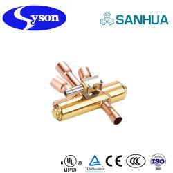 Sanhua quatro via válvula de marcha para o ar condicionado geladeira e bomba de calor