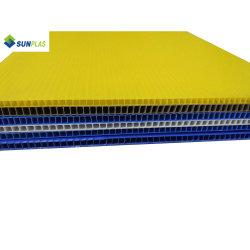 أصفر عالة حجم [بنل بوأرد] [بّ] مجوّف يغضّن صف بلاستيكيّة